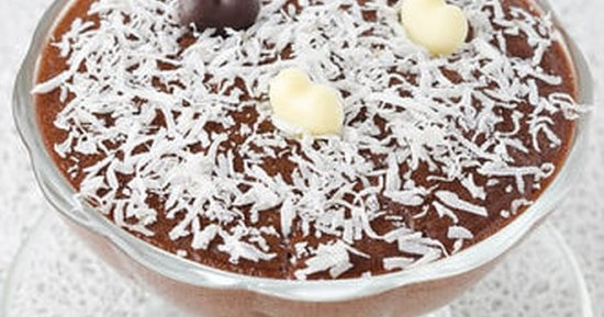 Chocolate Coconut Mousse