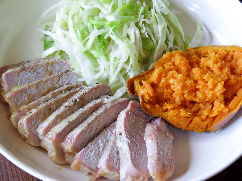 pork-chop-with-cabbage-sweet-potato-2