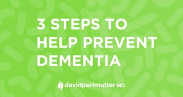 3 Steps to Help Prevent Dementia