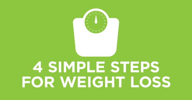 You Can Lose the Weight – Four Simple Steps
