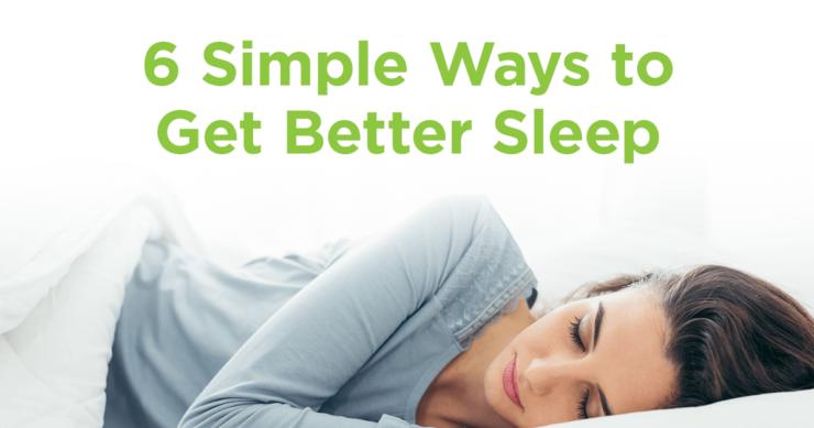 6 Tricks for Better Sleep