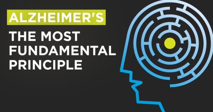 Alzheimer's – The Fundamental Principle