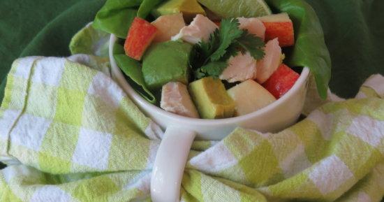 Apple Avocado Chicken Salad
