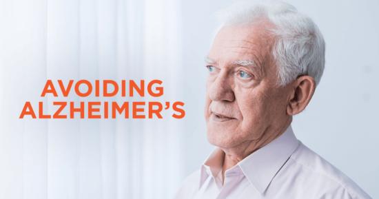 Avoiding Alzheimer's