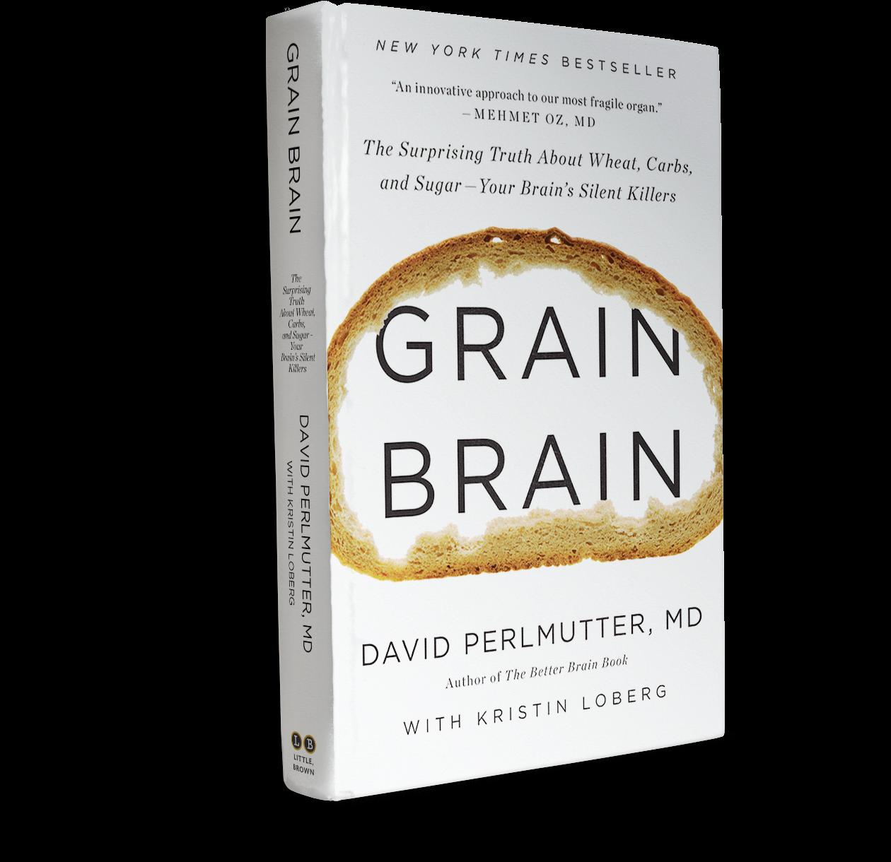 Grain Brain Book Cover