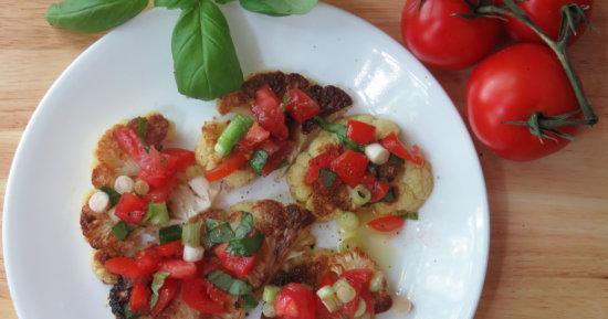 Cauliflower Bruschetta