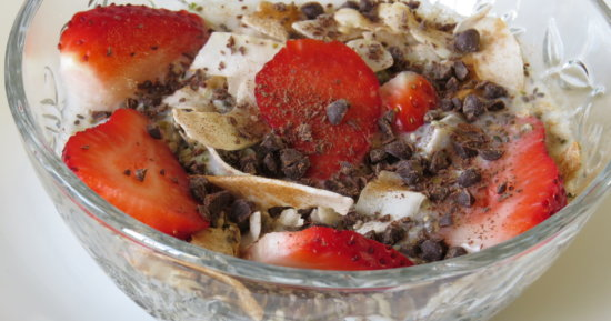 Chocolate Covered Strawberry Cereal