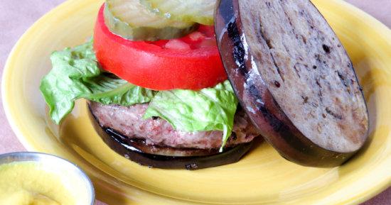 Eggplant Burger