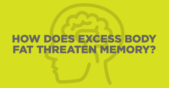 How Does Excess Body Fat Threaten Memory?