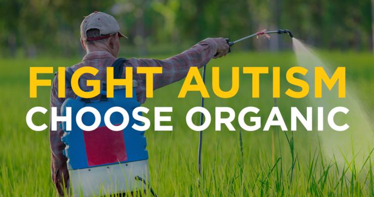 Fight Autism – Choose Organic