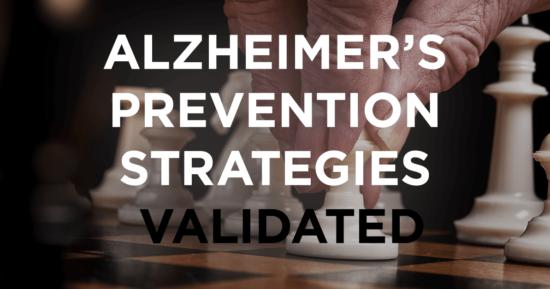 Alzheimer's Prevention Strategies Validated