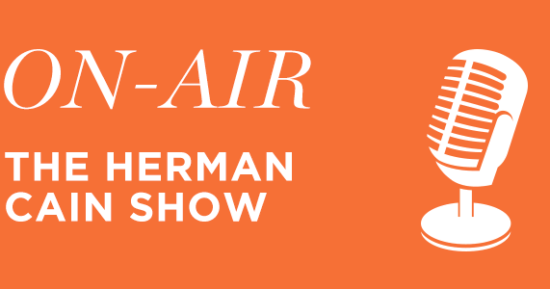 Live on the Herman Cain Show