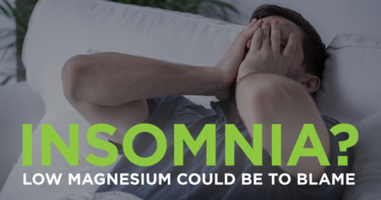 Struggling with Insomnia? Low Magnesium Could Be to Blame