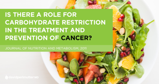 Is there a role for carbohydrate restriction in the treatment and prevention of cancer?