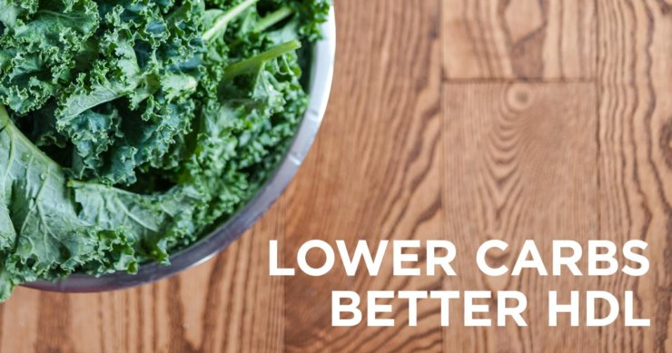Higher Dietary Carbohydrate Associated with Lower HDL
