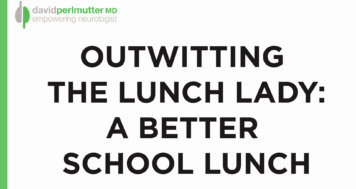 Brain Healthy Lunch at School