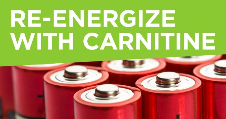 Re-energize with Carnitine