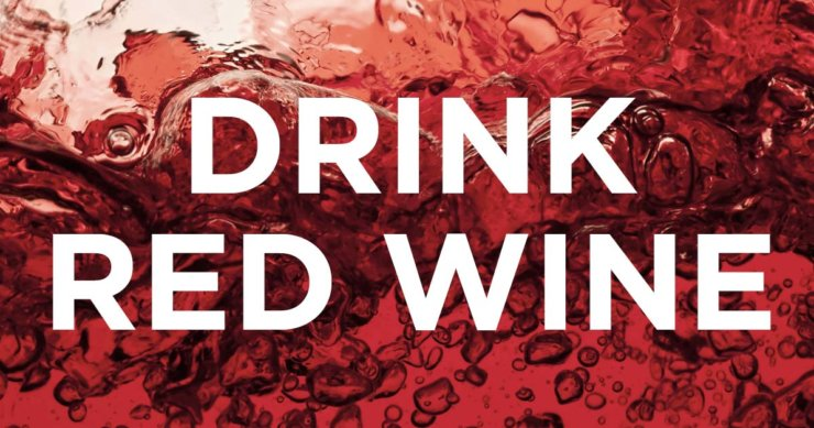 More Support for Drinking Red Wine
