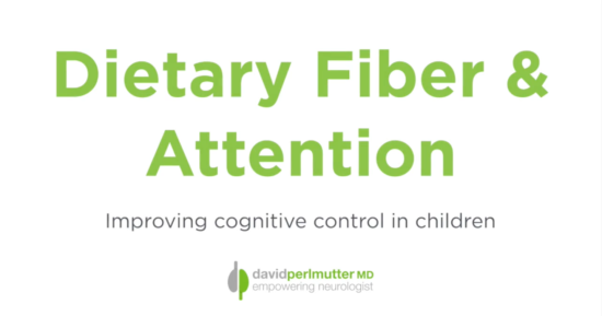 Improved Attention From Your Child? Feed Them This.