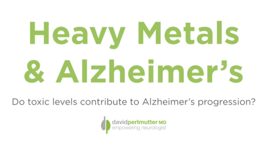 Heavy Metals & Alzheimer's: Do Toxic Levels Contribute to Disease Progression?