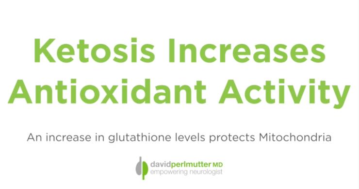 Ketosis Increases Antioxidant Activity