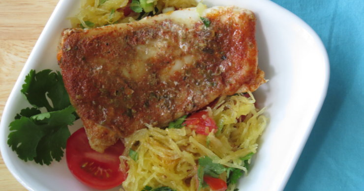 South of the Border Seafood Spaghetti Bowl