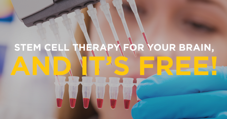 Stem Cell Therapy For Your Brain…And It's Free!