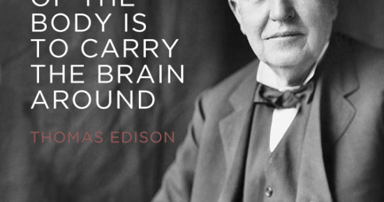 Thomas Edison got it right