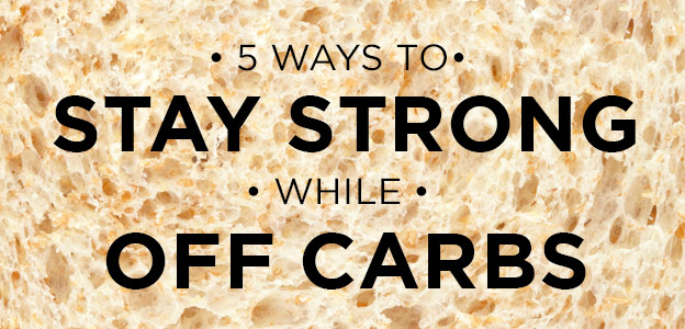 5 Ways to Thrive While You Wean Off Carbohydrates