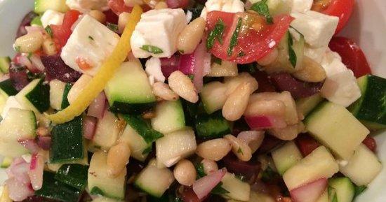 Raw Zucchini Salad