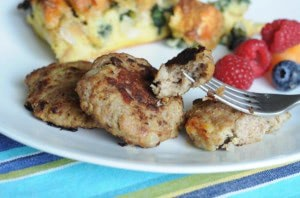 Brain Boosting Bison Breakfast Sausage Recipe