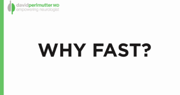 Fasting for Brain Health